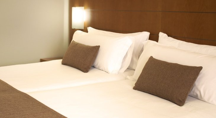 Double rooms overlooking the park Sercotel Principe Paz Hotel Tenerife ...